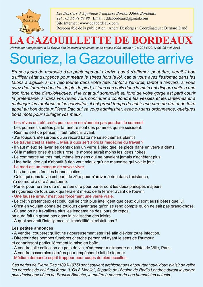 Gazouillette N°95